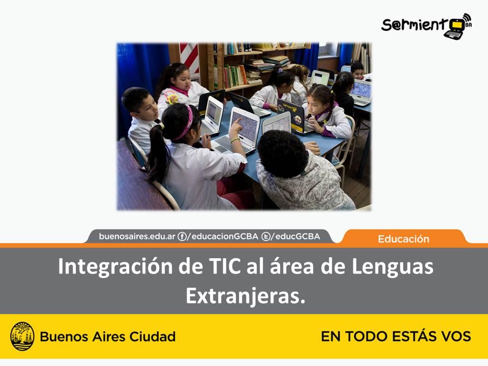 Integración de TIC al área de Lenguas Extranjeras