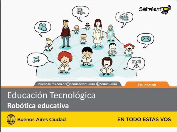 Educación Tecnológica Robótica educativa
