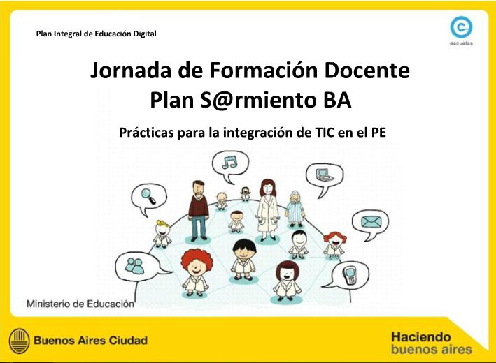 Jornada de Formación Docente Plan Sarmiento Buenos Aires