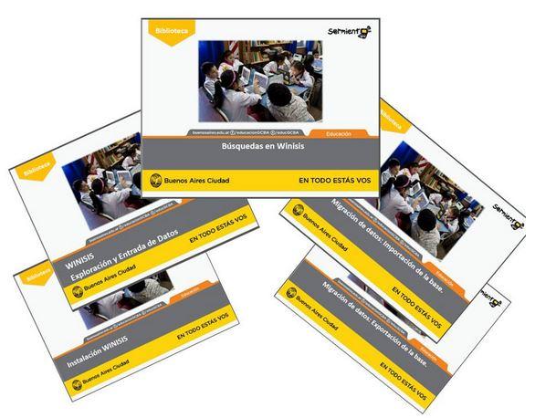 Imagen taller de Software para la gestión de la Biblioteca - Winisis