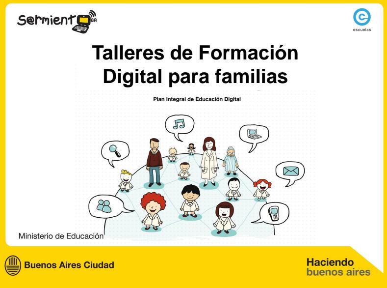Taller de Formación Digital para familias