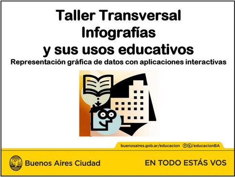 Taller transversal Infografías y sus usos educativos